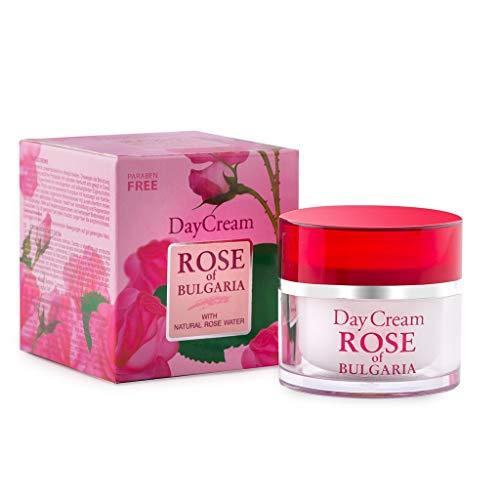 Biofresh Tagescreme Rose of Bulgarien mit natürlichem Rosenwasser, 50 ml BF-RB-DAYcrm-50-1x