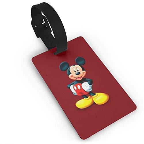 Mickey Mouse Be Cool Etiquetas para equipaje Maleta de mano Etiqueta de identificación de viaje para equipaje