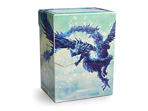 Arcane Tinmen ApS ART31633 Dragon Shield: Deck Shell Clear Blue limitiert, Mehrfarbig