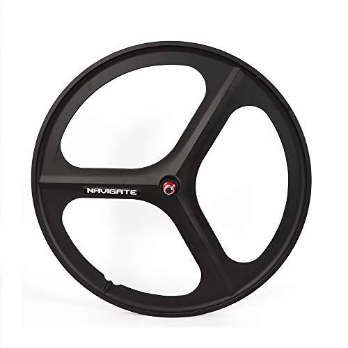 LOYALHEARTDY 700C Fixed Gear Mag Wheels Rims Set Front Rear Fixie Bike Wheels Single Speed
