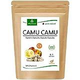 MoriVeda - Camu Camu Capsules 8:1 Extract with 50% Natural Vitamin C (120 or 360 Caps) - prodotto di qualità vegan (1x120 Caps)