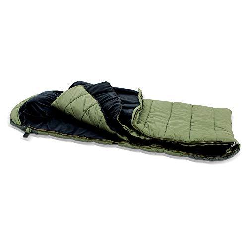 Lucx® Grizzly Sleeping Bag Schlafsack für Angler zum Karpfenangeln & Nachtangeln, Angelschlafsack, Anglerschlafsack 5 Season Sleepingbag