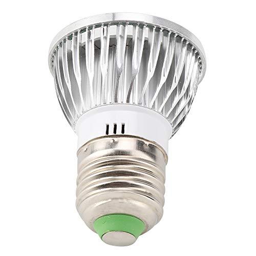 Wosune Cultive Chips LED de Espectro Completo, Bombilla de luz y luz para Utilizar Flores de Estabilidad excepcional para Plantas en macetas de Cultivo de Invernadero de jardín Interior