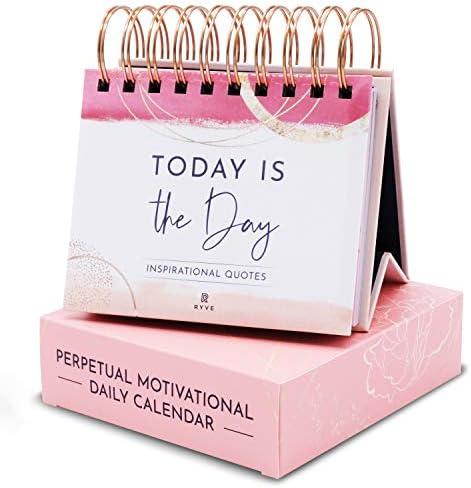 RYVE Motivational Calendar Daily Flip Calendar with Motivational Quotes Inspirational Calendar product image