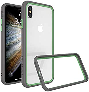 Protective Frame from RhinoShield CrashGuard NX for iphone XS grey whit green