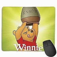 くまのプーさん マウスパッド かわいい 小型マウスパッドは25×30cm ゲームおよびオフィス用/防水/洗える/滑り止め/ファッショナブルで丈夫
