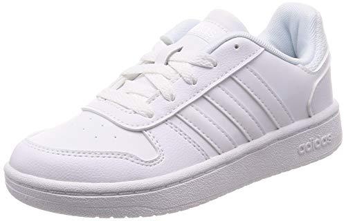 Adidas Hoops 2.0 K, Zapatillas de básquetbol, FTWBLA/FTWBLA/FTWBLA, 29 EU