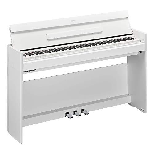 Yamaha YDPS54WH Arius Series Slim Digital Console Piano, Satin White