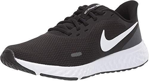 Nike Damen Revolution 5 Laufschuhe, Black White Anthracite, 38 EU