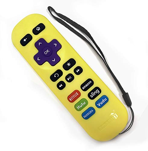 Amaz247 ARCBZ01 Replacement Remote for Roku Streaming Player (Roku 1/2/3/4, HD/LT/XS/XD), Express/Premiere/Ultra Player; DO NOT Support Roku Stick or Roku TV