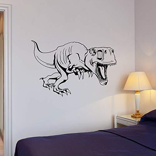 fdgdfgd Prähistorische Wandtattoos Dinosaurier Tyrannosaurus Tyrannosaurus Eidechse Vinyl Wandtattoos Kinderzimmer Jungen Schlafzimmer Dekoration Aufkleber