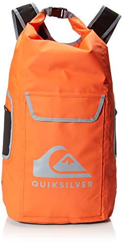 Quiksilver Herren SEA STASH II Backpack Rucksack, Shocking Orange, 1 Größe