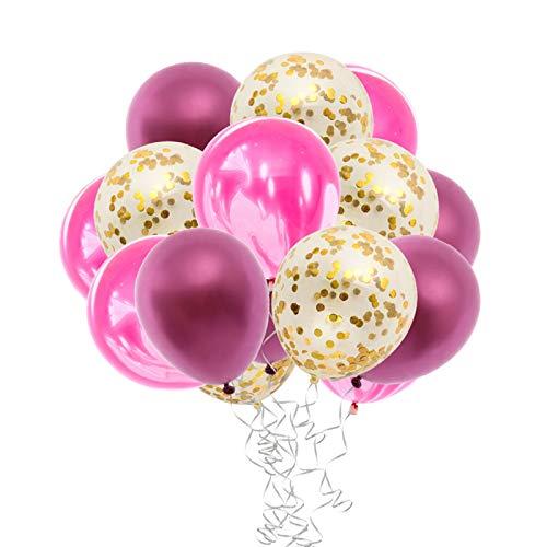 TWW Elektrische Luftpumpe Doppelloch-Latexballon Elektrische Luftpumpe Hochluftdruckballon Luftpumpe Partyballon-Aufblaswerkzeug,Rosa
