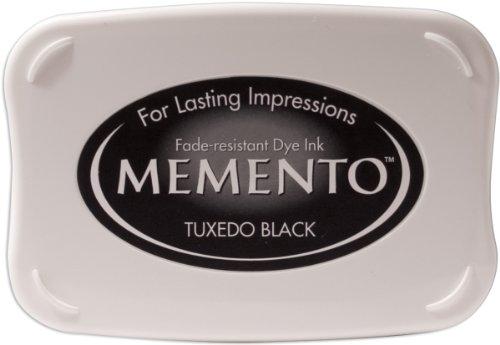 Tsukineko ME000900 - Almohadilla de tinta, color negro