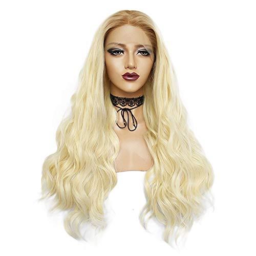 Madong Perruque de cheveux longs bouclés Style européen