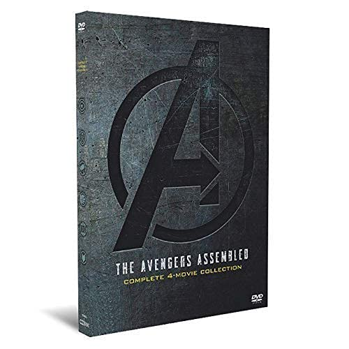 Avengers Collection 1-4 US Version DVD