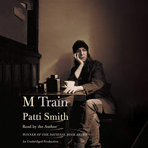 M Train audiobook cover art