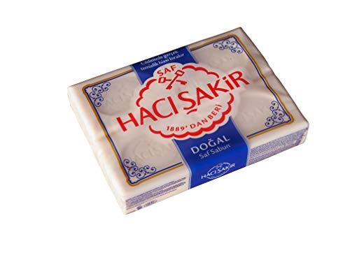 Haci Sakir Seife 4er Pack 4 x 150 g ( 600 g ) Saf Sabun