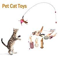 猫 おもちゃ 羽根つき 動く 釣竿 丈夫 安全 人気 かわいい 簡単 おしゃれ 猫 おもちゃ ボール 羽 運動 健康