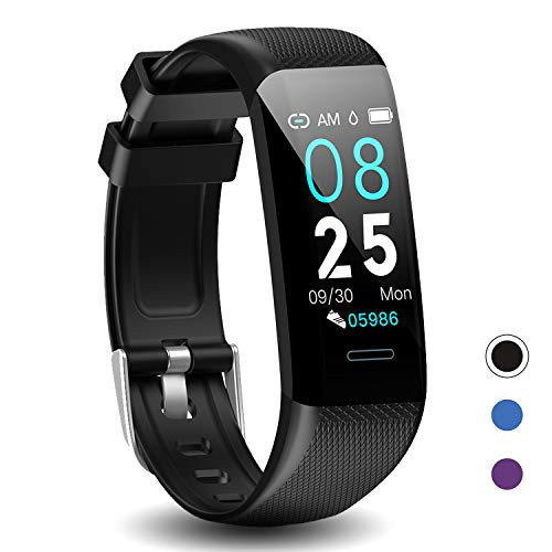 DoSmarter Fitness Tracker, Health Watch with Blood Pressure Heart Rate Monitor, Waterproof Activity Tracker with Step Calories Counter Sleep Tracker for Men Women