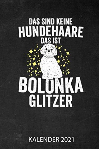 Das Ist Bolonka Glitzer Kalender 2021: Jahresplaner 2021 für Bolonka Zwetna Besitzer I Januar-...