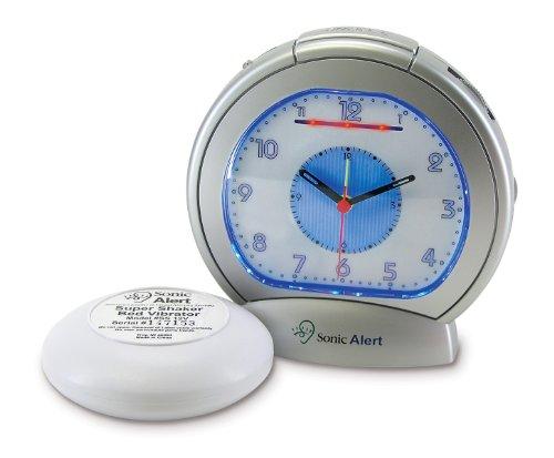 Sonic Bomb Sonic Boom Analog Alarm Clock by Sonic Bomb