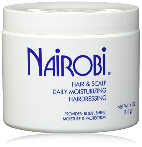 Nairobi Hair and Scalp Daily Moisturizing Hairdressing Unisex, 4 Ounce