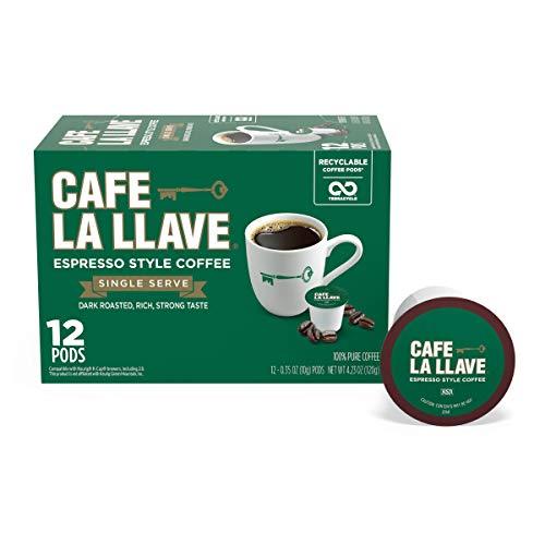 Cafe La Llave Espresso K-Cup (72...