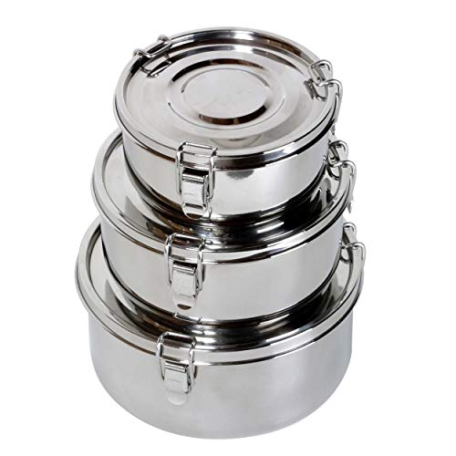 Relags Edelstahl 'Food Container' -klein Dose, Silber, 0.5 Liter