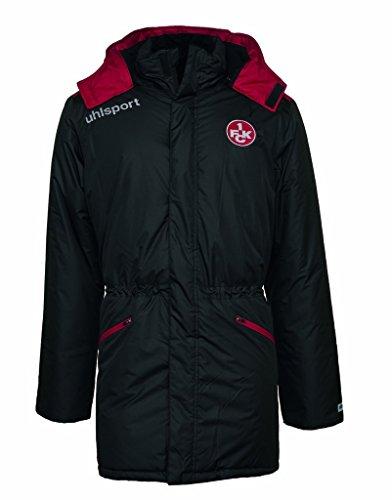 uhlsport Herren FCK WINTERMANTEL 16/17 Jacke, schwarz/Chilirot, 140