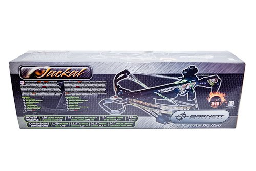 Barnett Jackal Crossbow Package (Quiver, 3 - 20-Inch Arrows...