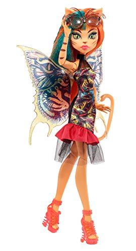 Monster High-FCV55 Ninfas con alas - Toralei, Multicolor (Mattel FCV55)
