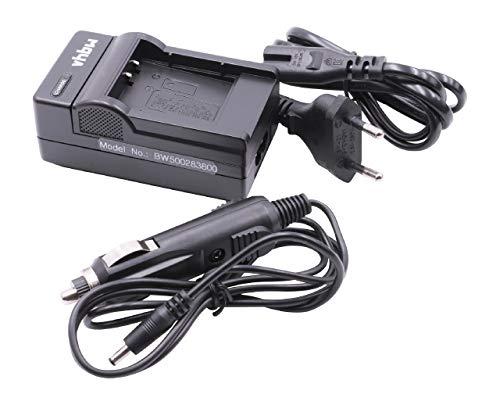vhbw Akku Ladegerät Ladeschale passend für Ricoh DB-100 Digitalkamera- Camcorder- DSLR- Action Cam-Akku