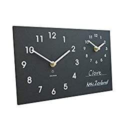 Recycled Dual Time Zone Clock
