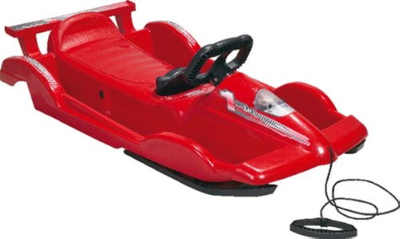 1Sitz. Bob Alpen Race, red L+S