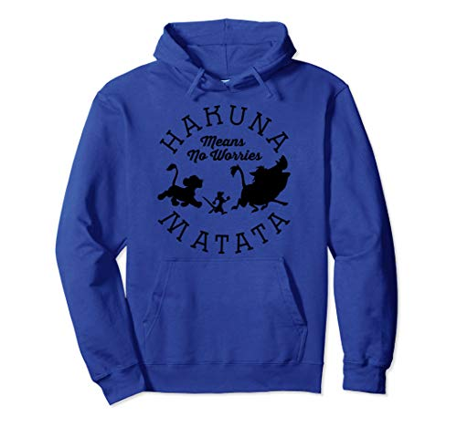 Disney Lion King Hakuna Matata Pride Camp Graphic Hoodie