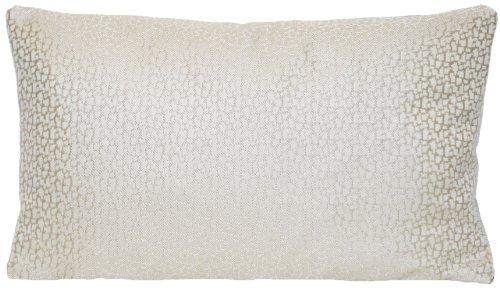 Moderne Argent Maison Canapé Taie d'oreiller DESIGNERS GUILD Tissu tissé beige Housse de coussin Gris