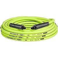 Flexzilla 1/4 Inch x 50 Feet Air Hose, MNPT Fittings, Flexible Hybrid Polymer (ZillaGreen)
