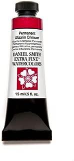 Daniel Smith Extra Fine Watercolor Paint Tube, 15ml, Permanent Alizarin Crimson