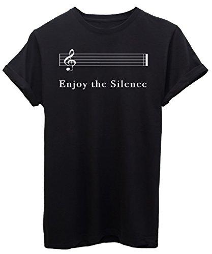 iMage T-Shirt Enjoy The Silence - Musica - by Bambino-L-Nera