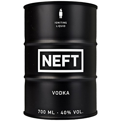 NEFT Vodka Black Barrel 40,00% 0.7 l.