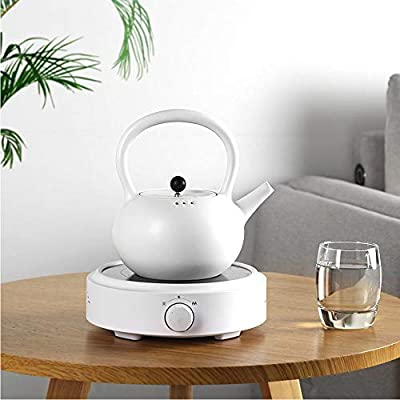 """Small Electric Stove 800W Portable Countertop 6.7"""" Hot Plate Multifunctional Home Coffee Tea Water Heater"""