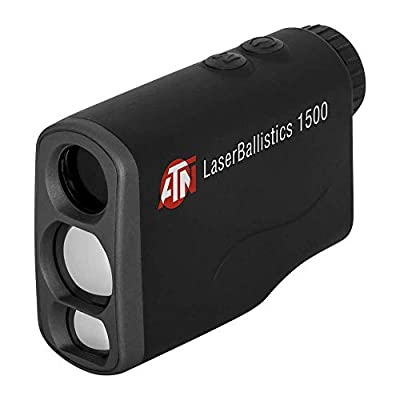 theOpticGuru ATN Laser Ballistics Range Finder w/Bluetooth, Ballistic Calculator and Shooting Solutions App (1000m)