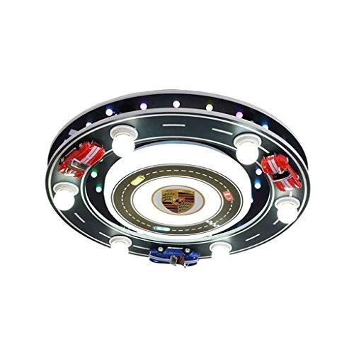 SPNEC Luz de Techo, Techo del LED, guardería Creativo Coche de Deportes de la Historieta de iluminación de luz del Parque de Atracciones de Niños y Niñas (Color : B)