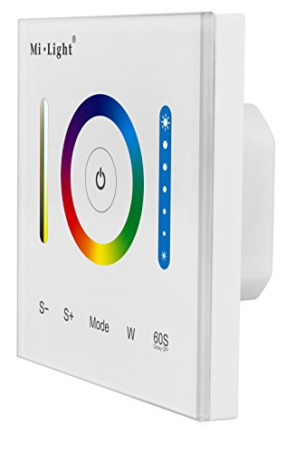 LIGHTEU, Smart-Panel-Controller P3 Smart Panel LED-Controller RGB RGBW RGB + CCT 12V 24V Touch-Schalter Dimmer