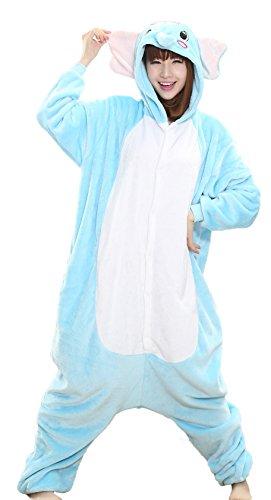 Nicetage Fashion Elephant Onesie - Soft and Comfortable with Pockets Elephant M