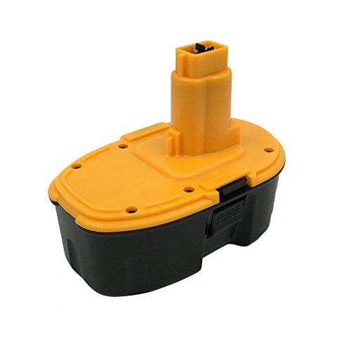 Kinon Replacement Power Tool Battery 18V 2.0Ah for Dewalt Cordless Drill Impact Driver DC9096 DE9039 DE9095 DE9096 DE9098 DE9503 DW9095 DW9096 DW9098 DC618 DC988KB