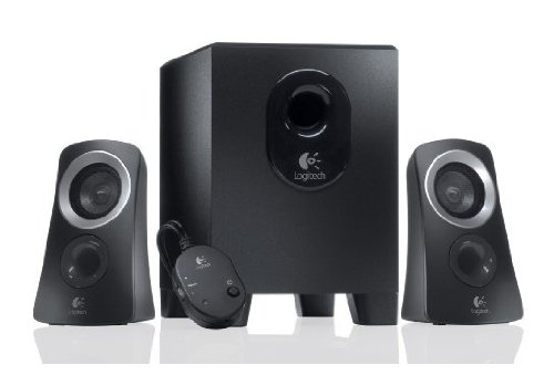 Logitech Z313 2.1 Sistema di Altoparlanti Multimediali con Subwoofer, Audio Full Range, 50 Watt, Bassi Potenti, Ingressi Audio Bluetooth e 3.5 mm, ‎PC/PS4/Xbox/TV/Smartphone/Tablet/Lettore Musicale