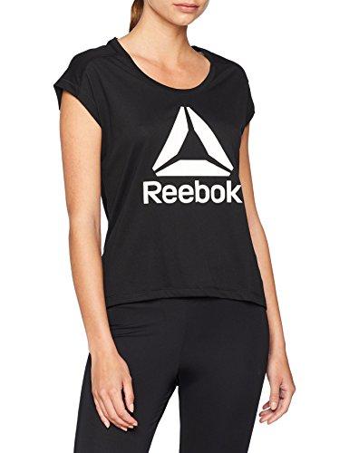 Reebok WOR SUPREMIUM 2.0 tee BL Camiseta, Mujer, Negro (Negro), M