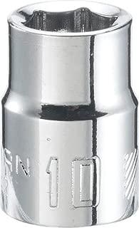 CRAFTSMAN Shallow Socket, Metric, 3/8-Inch Drive, 10mm, 6-Point (CMMT43542) Brand Craftsman
